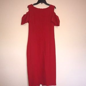 🆕Classy Red Dress purchased in Italy
